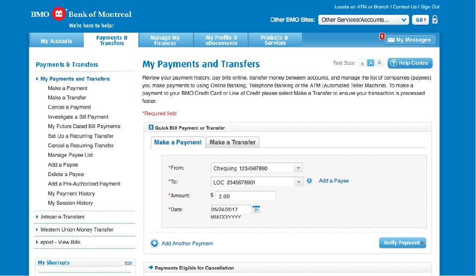 Pay Bills Online| Ways to Bank | BMO